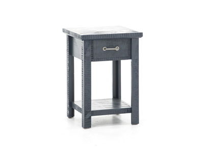 Oceanside Blue End Table