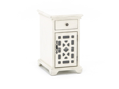 Bayberry Cream Chairside Table