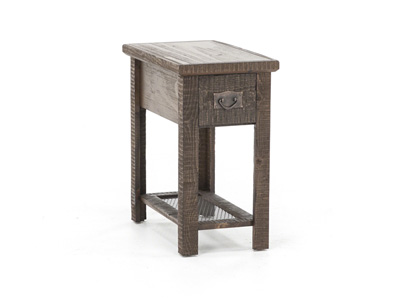 Barn Brown Chairside Table