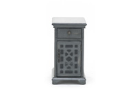Bayberry Grey Chairside Table