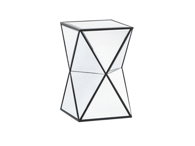 Hendrix Mirrored Accent Table