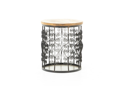 Filigree Round Side Table