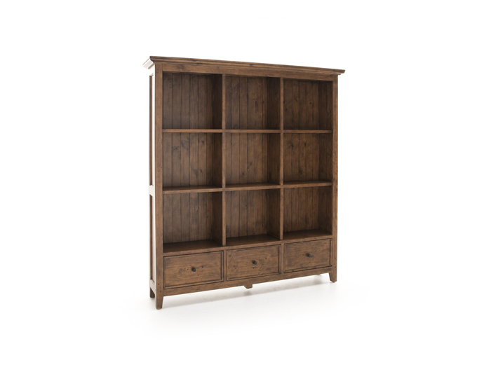 Tuscan Retreat Oxford Cubby Bookcase