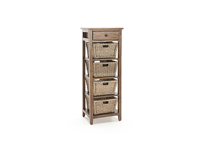 Tuscan Retreat Oxford 4 Basket Stand