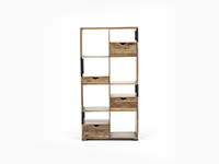 Cubist Tall Display Shelves