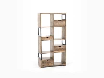 new concept 9a0b3 a6d70 Cubist Tall Display Shelves