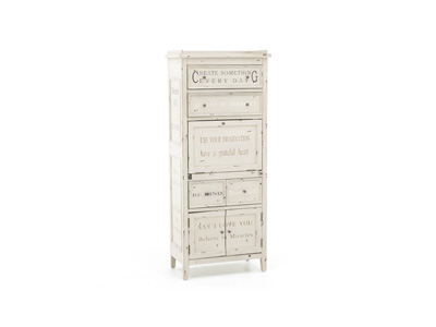 Typography Accent Cabinet