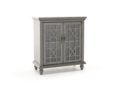 Bayberry Collection Grey Accent Cabinet