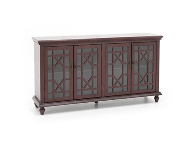 Bayberry Collection Red Credenza