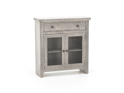 American Grey Accent Cabinet