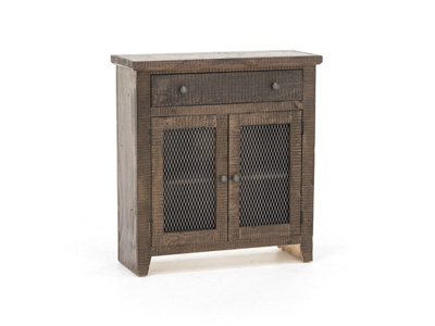 Barn Brown Accent Cabinet