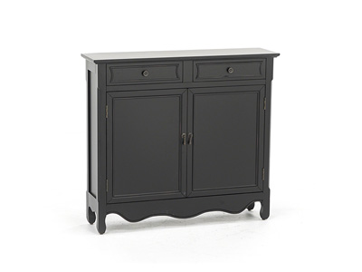 Claridon Collection Black Cabinet