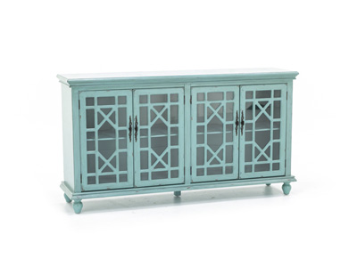 Bayberry Teal Credenza