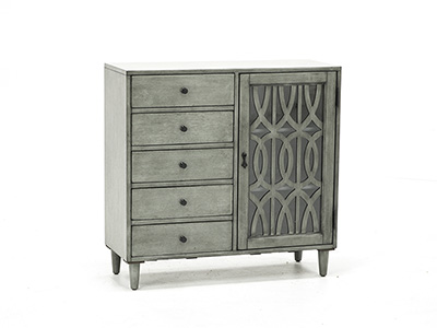 Burnished Grey Cabinet
