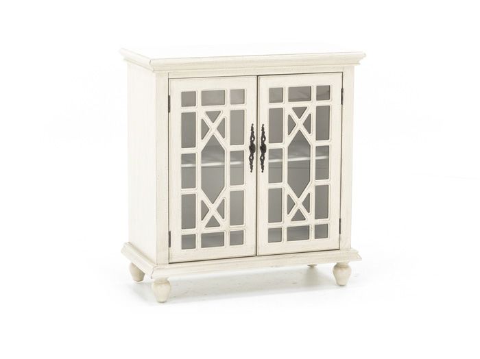 Bayberry Cream Accent Cabinet