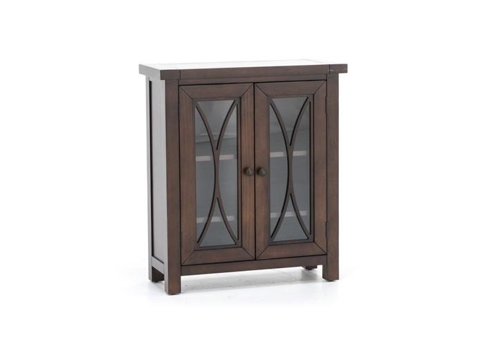 Bayside Mahogany 2 Door Cabinet
