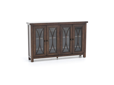Bayside Collection Mahogany 4 Door Cabinet