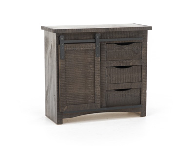 Barn Brown Barn Door Cabinet