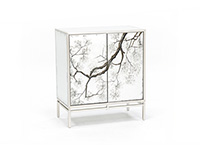 Silver Mist Cabinet