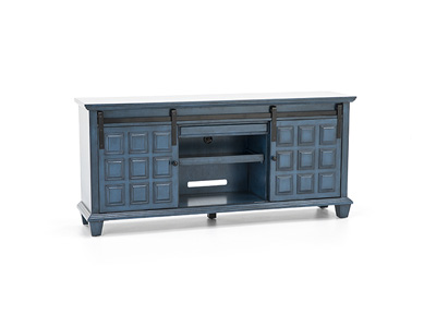 Ridge Blue Media Credenza