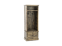 Storage Solutions Collection Dakota Oak Hall Tree