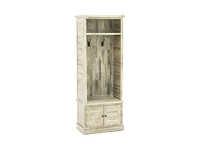 Storage Solutions Weathered Grey Hall Tree