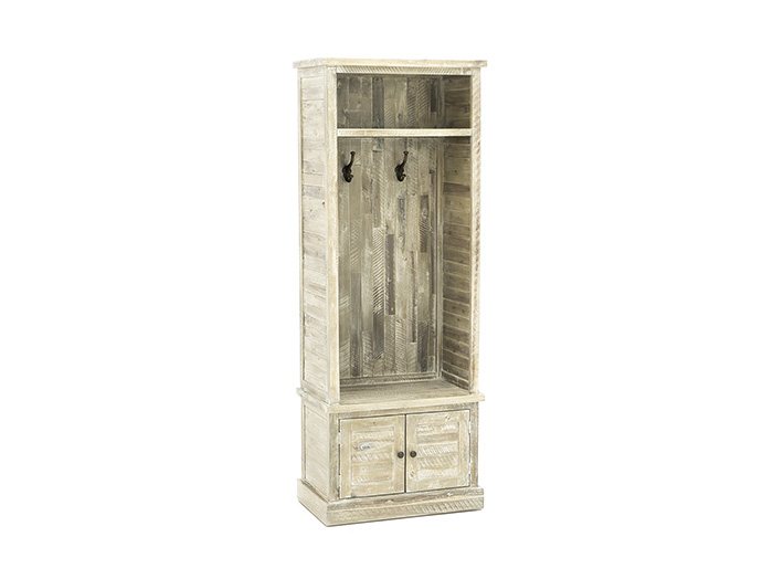 Storage Solutions Collection Weathered Grey Hall Tree