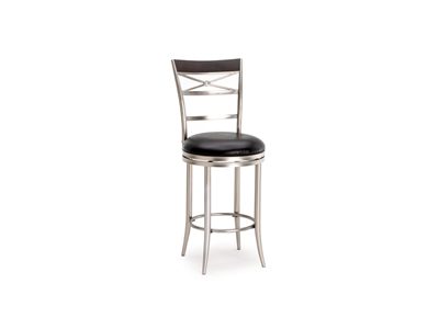 Kilgore X-Back Swivel Bar Stool