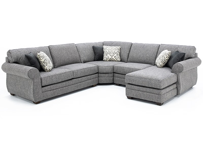 Veronica 4 Pc. Sectional