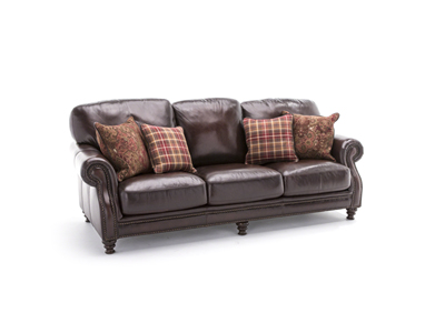Hillsboro Leather Sofa