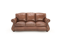Anna Lynn Leather Sofa
