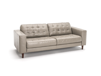 Davenport Leather Sofa