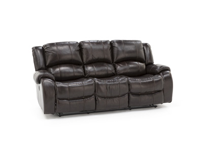 Tyler Leather Reclining Sofa