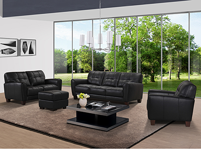 Bovale Leather Sofa