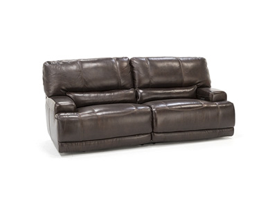 Placier Leather Power Headrest Sofa