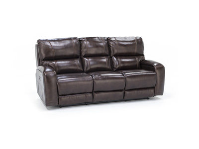 Mason Leather Fully Loaded Sofa