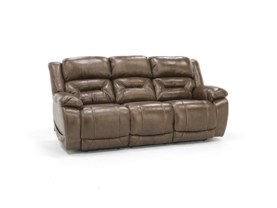 Lusso Leather Fully Loaded Sofa