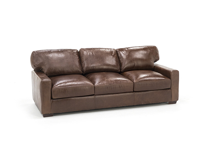 Wicker Park Leather Sofa