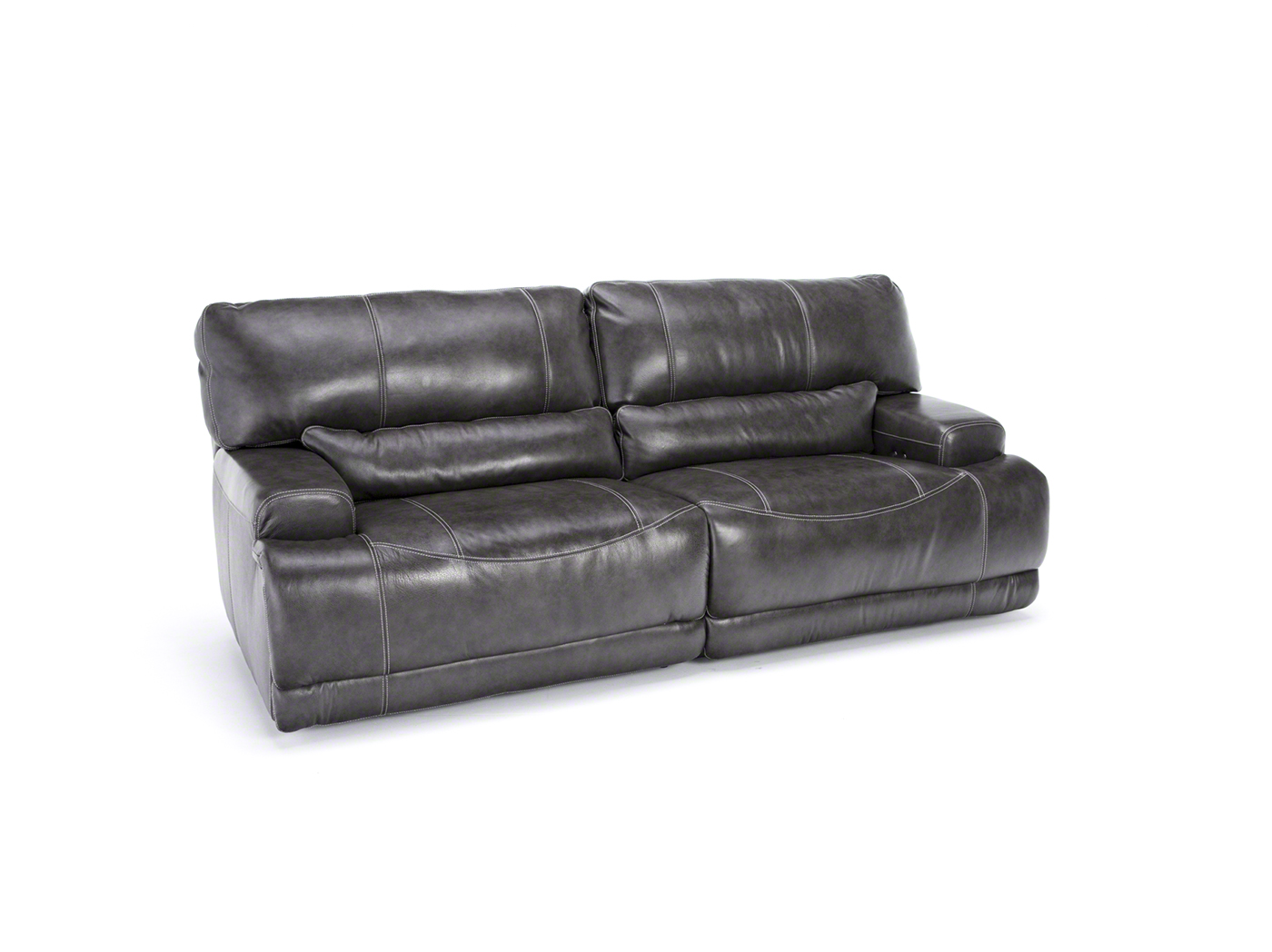 Steinhafels Placier Leather Power Recline Sofa