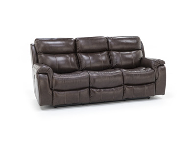 Shane Leather Power Recline with Power Headrest Sofa