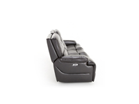 Tacoma Leather Power Recline with Power Headrest Sofa