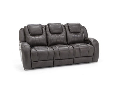 Mia Leather Fully Loaded Sofa with SoCozi™