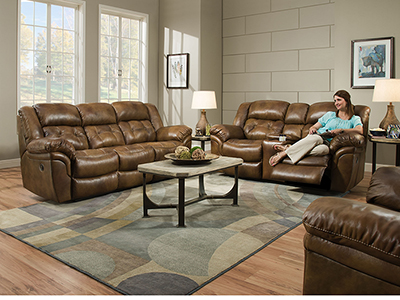 Cheyenne Saddle Recline Sofa