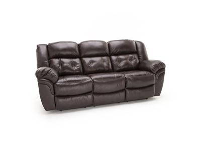 Steinhafels Greyson Leather Power Recline Sofa