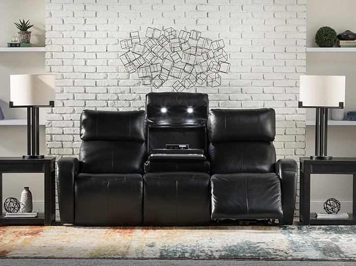 Incredible Avant Leather Fully Loaded Sofa Bralicious Painted Fabric Chair Ideas Braliciousco