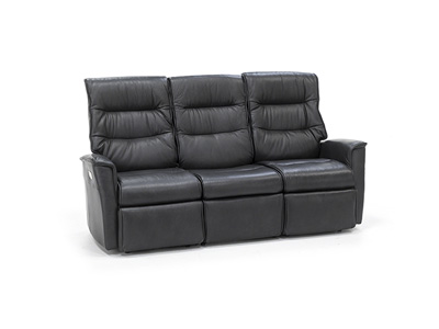 Direct Designs® Chelsie 3 Pc. Leather Fully Loaded Reclining Sofa
