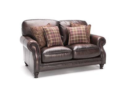 Hillsboro Leather Loveseat