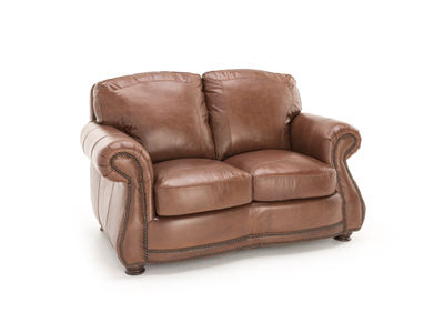 Anna Lynn Leather Loveseat