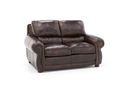 Parker II Leather Loveseat