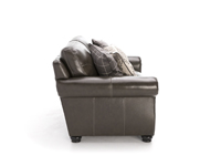 Tomar Leather Loveseat